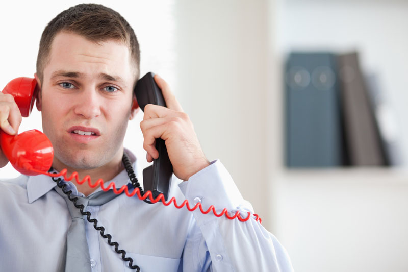 Overcoming call center stress